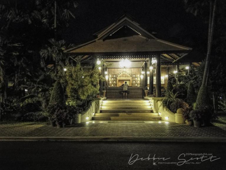 Horizon Village and Resort at night