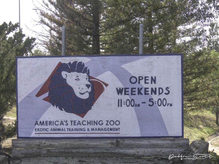 WPC - Tour Guide Entrance Sign