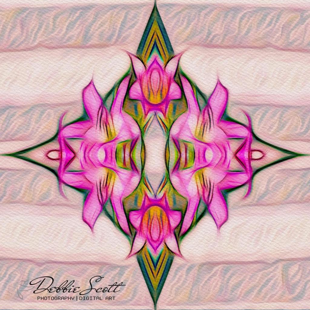 Mirrored Amaryllis 4