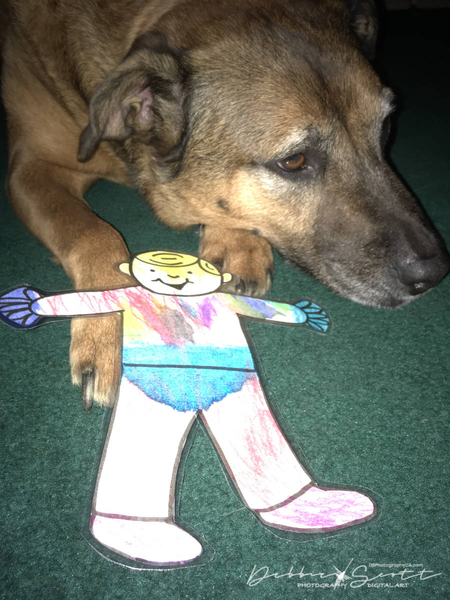 Flat Stanley With His Cousin Chuy
