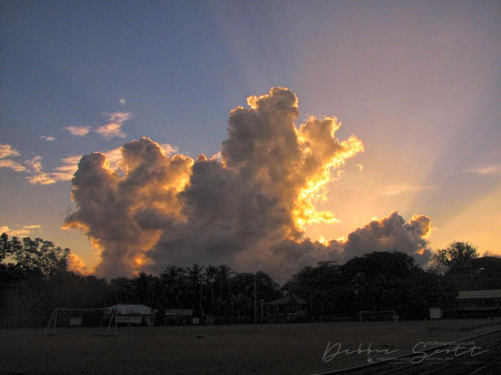 2009 Palau Sunrise
