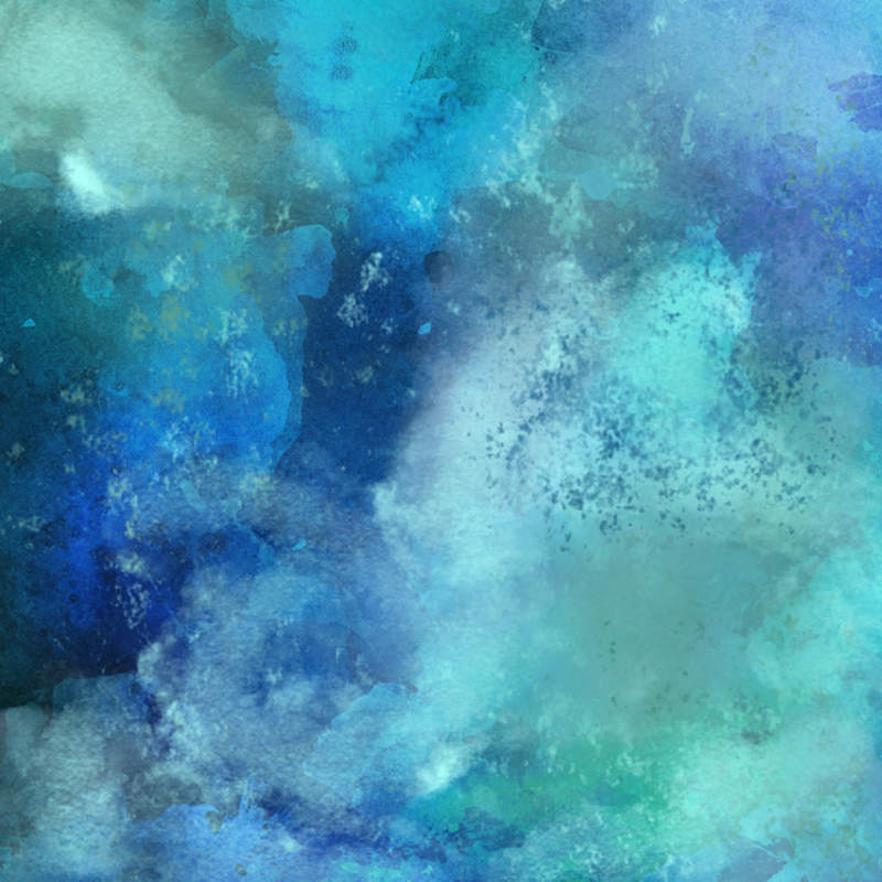 Blue-Green Watercolor Texture - Step 1