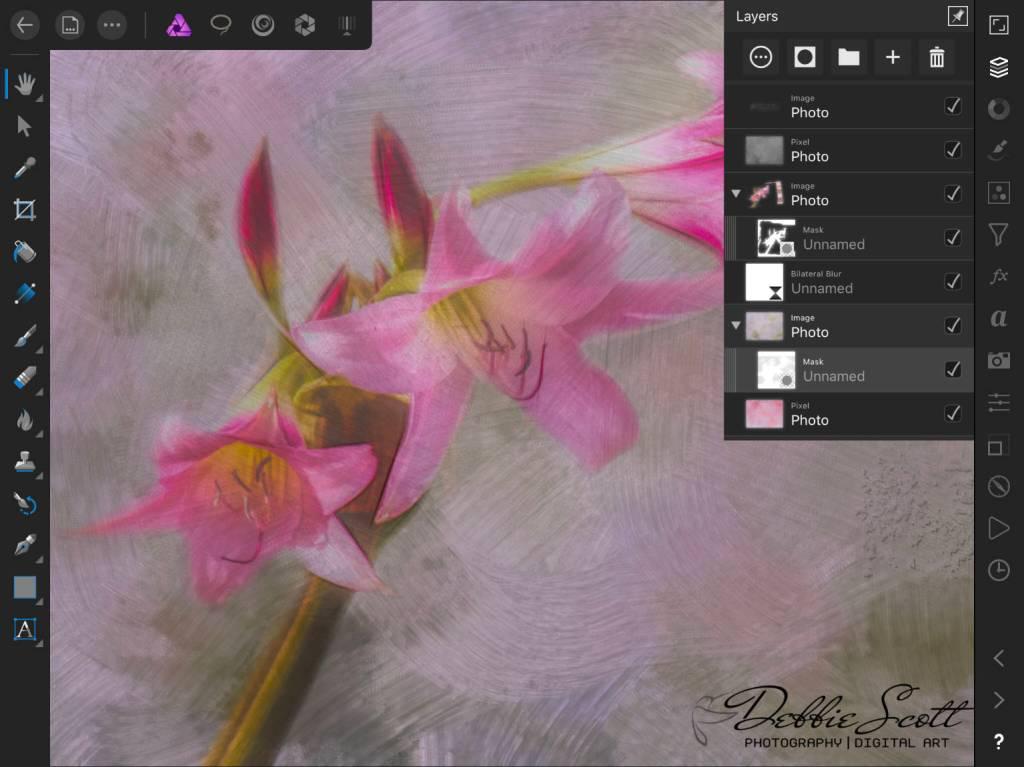 08 - Amaryllis Layers Screenshot
