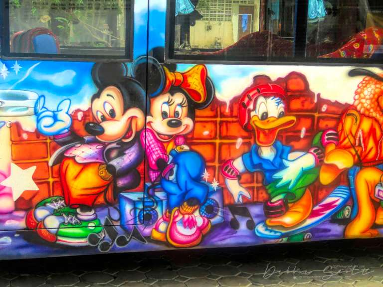 WPC Smile - Smiling Disney Characters Bus