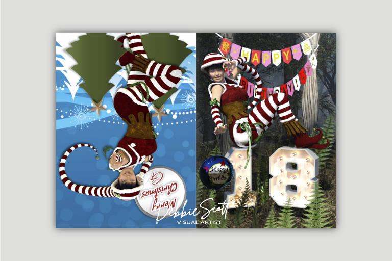 Niece Birthday/Christmas card