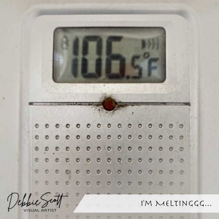 I'm Meltinggg...