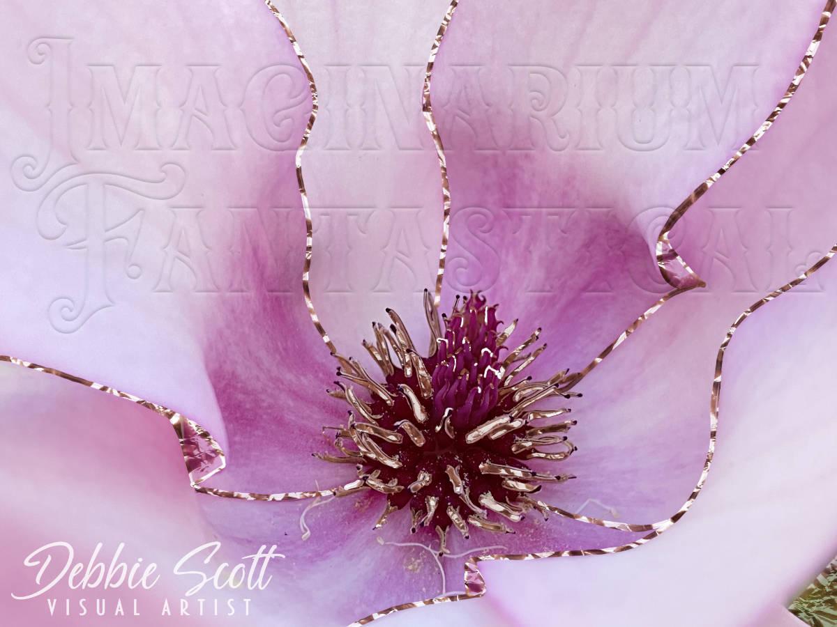 Bling Saucer Magnolia